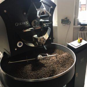 Auskühlen des Kaffees